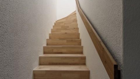 Treppe gefertigt von Florian Oeschger