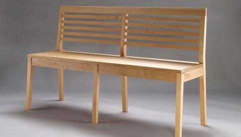 Sitzbank gefertigt von Florian Oeschger, Rheinfelden-Herten