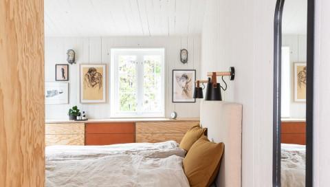 Ombygd bolig på Rodeløkka, prosjekt ved Schjelderup Trondahl arkitekter. Styling ved Silje Aune Eriksen